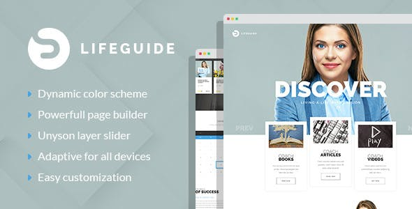 LifeGuide - Personal and Life Coach WordPress theme