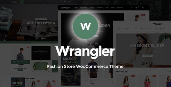Wrangler - Fashion Store Multipurpose Responsive WooCommerce WordPress Theme
