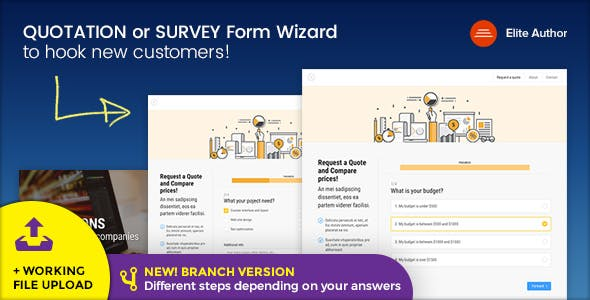 Survey Templates from ThemeForest