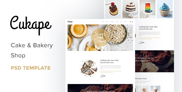 Ice-cream Templates from ThemeForest
