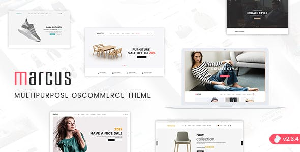 Marcus - Premium Multipurpose osCommerce Theme nulled theme download