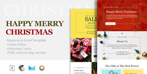 Christmas newsletter templates from themeforest christmas and new year responsive email template online builder maxwellsz