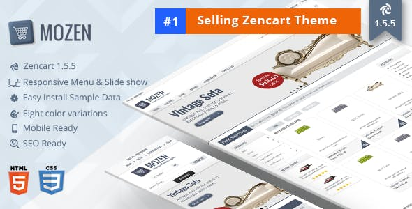 Mozen – Responsive Zencart Template nulled theme download