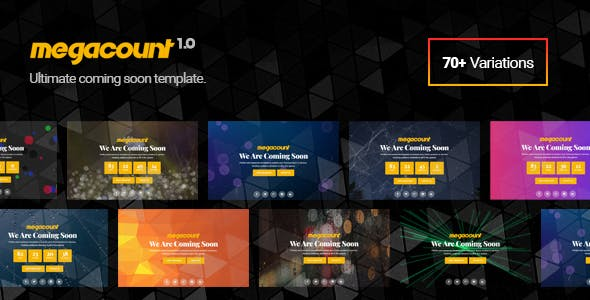 Launching Soon Templates from ThemeForest
