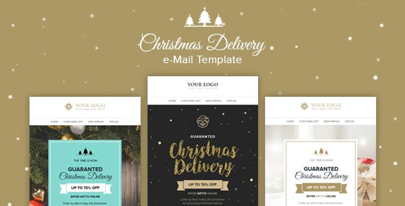 Christmas Newsletter Templates From ThemeForest