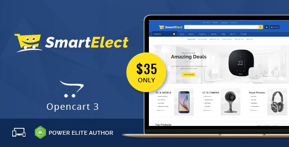 SmartElect - Multipurpose OpenCart 3 Theme free theme download