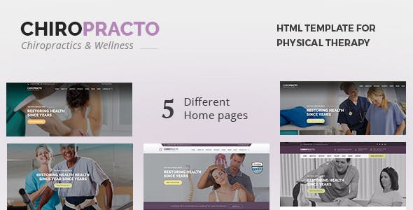 Physical Therapy Templates from ThemeForest