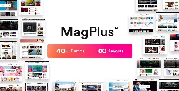 MagPlus - Blog & Magazine WordPress theme for Blog, Magazine