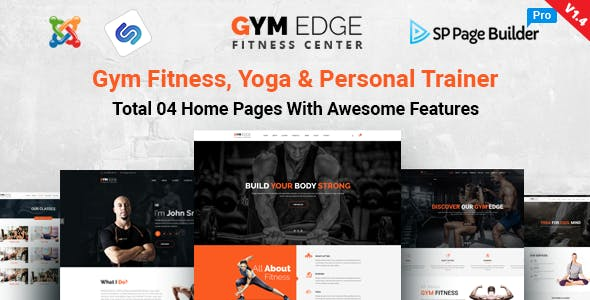 personal trainer joomla fitness health beauty templates