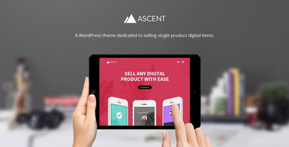 Ascent - WordPress / Easy Digital Downloads Theme nulled theme download