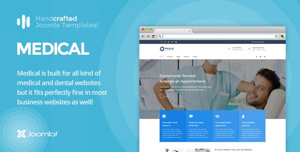 Dental cms website templates from themeforest it medical gantry 5 medical dental joomla template wajeb Image collections