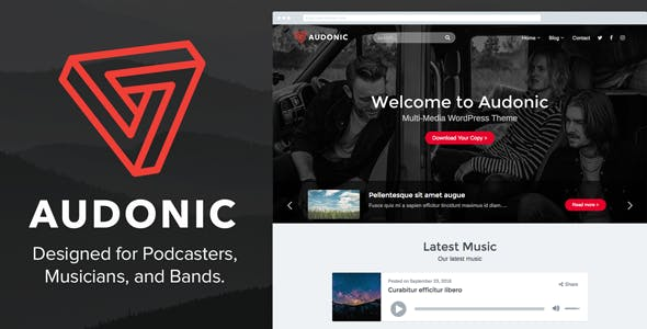 Multimedia Templates from ThemeForest