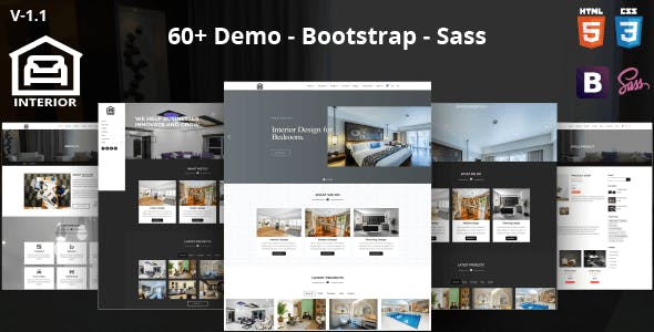 Home Design Templates. Interior  Modern Design HTML Template Home Templates from ThemeForest