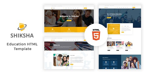 Shiksha Education Html5 Template