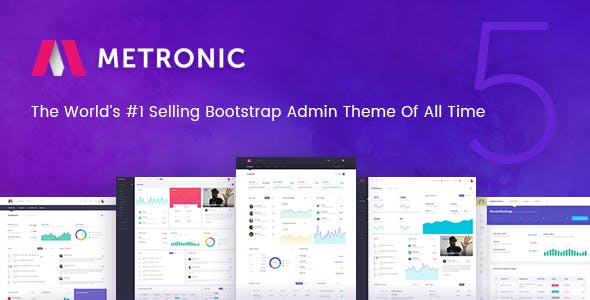 Top 10 Metronic Nulled Themes 2019 Free Download