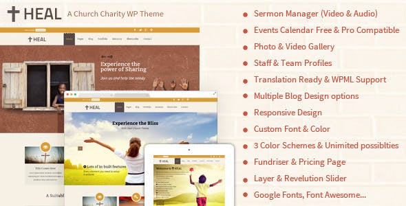 Heal NGO | Charity WordPress Theme