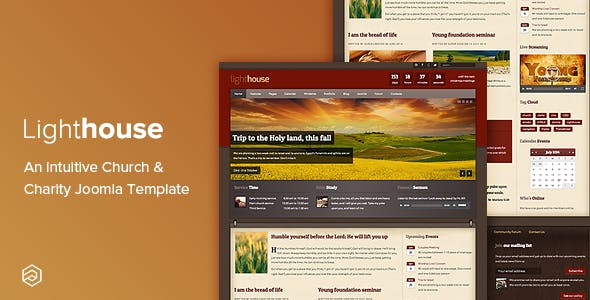 Church Website Template Templates From ThemeForest - Church website templates