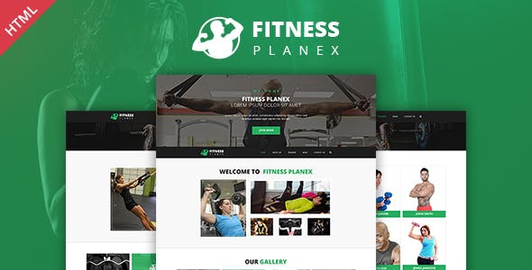 sports trainer templates from themeforest
