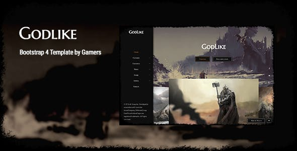 Game App Templates from ThemeForest