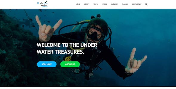 ocean templates from themeforest