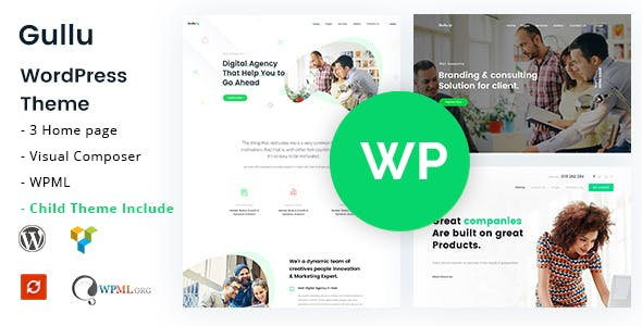 Top 10 Wordpress agency Nulled Themes 2019 Free Download