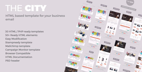 Announcement Templates From ThemeForest - Announcement email template