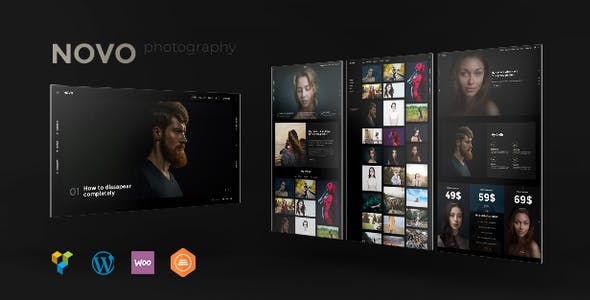 WordPress Photography Themes from ThemeForest