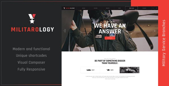 WordPress 4.4.1 Website Templates from ThemeForest (Page 6)