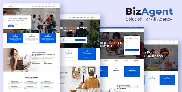 High Conversion Templates from ThemeForest