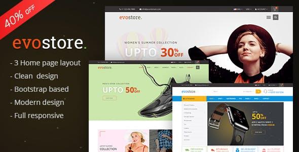 Evostore - Multipurpose Ecommerce HTML Template