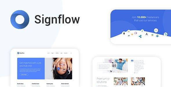 Signflow - Tech & Startup Ultra Modern Theme | Startup & Tech