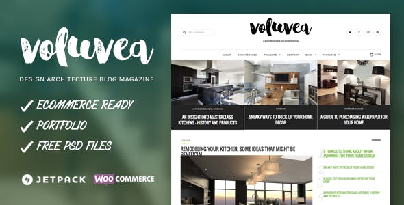 Home Design Templates from ThemeForest