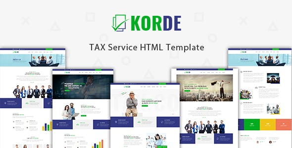 Tax Consultant Website Templates From ThemeForest - Tax website templates