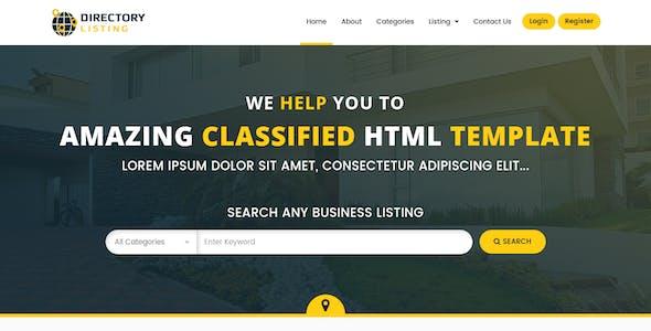 Viavi Directory Listing HTML Template