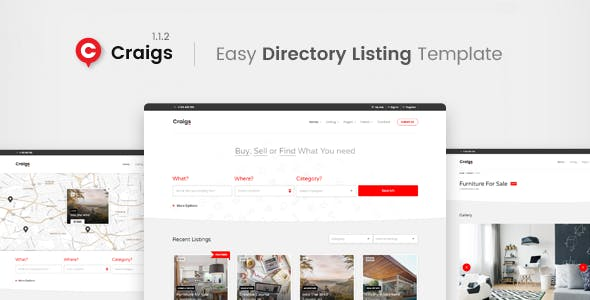 Bootstrap 4 Directory Website Templates From ThemeForest