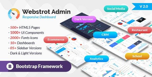 Analytics Templates From ThemeForest - Analytics dashboard template