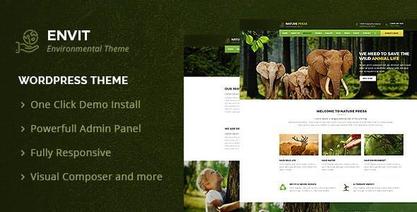 Best 7 responsive nature wordpress themes 2018 velathemes.