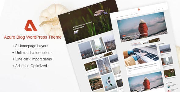 Azure Website Templates From Themeforest