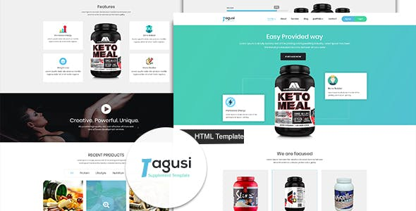 Supplement product landing page free psd at downloadfreepsd. Com.