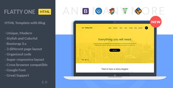 Phpmailer Bootstrap HTML Website Templates from ThemeForest
