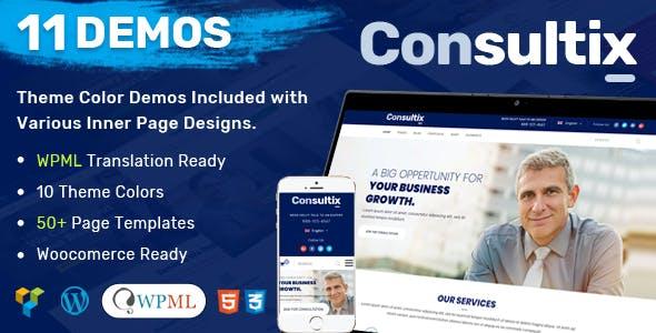 Portfolio wordpress business themes from themeforest consultix business consulting wordpress theme accmission Choice Image