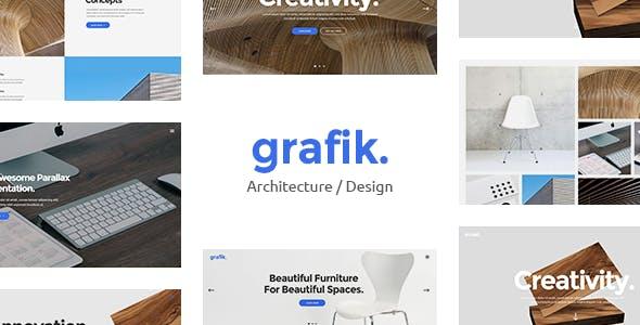 Grafik - Architecture and Design Portfolio Theme