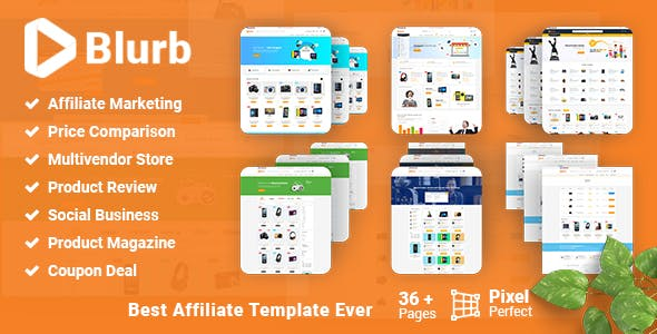 Amazon Affiliate HTML Website Templates From ThemeForest