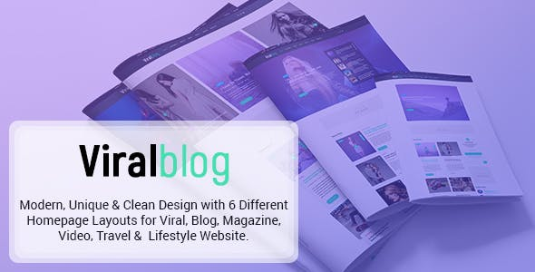 Buzzfeed templates from themeforest viral blog viral magazinenews and personal blog psd design reheart Gallery