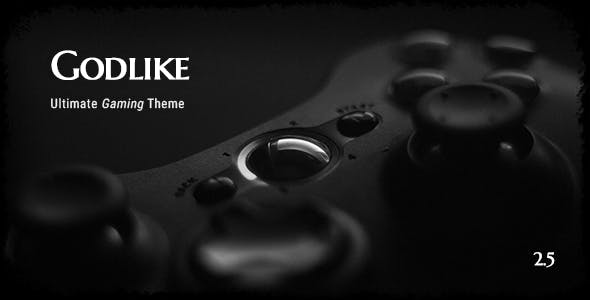 Game Website Templates from ThemeForest