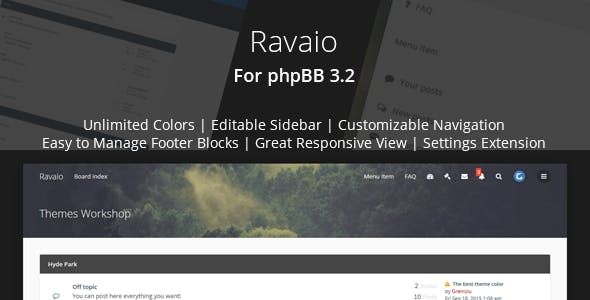 Phpbb3 Forum Templates From Themeforest