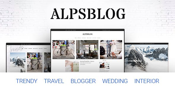 Travel Blog Website Templates Compatible With Facebook