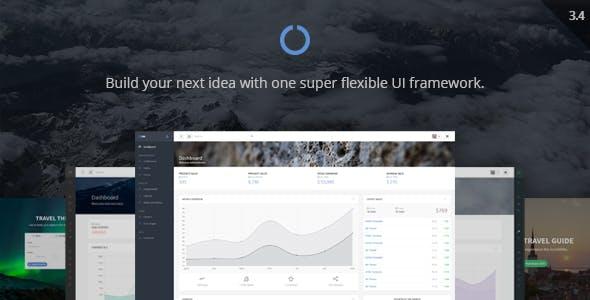 OneUI - Bootstrap Admin Dashboard Template + UI Framework + AngularJS