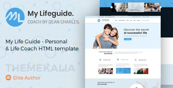 health coaching templates from themeforest