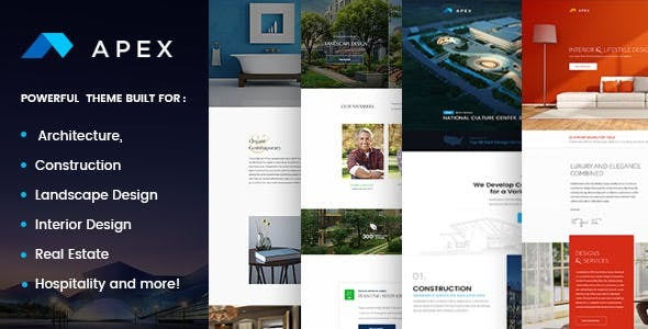 apex construction builders designers architects wordpress
